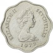 Seychelles, 5 Cents, 1972, British Royal Mint, AU(50-53), Aluminum, KM:18