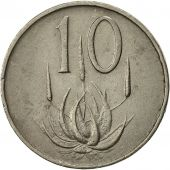 South Africa, 10 Cents, 1965, EF(40-45), Nickel, KM:68.1