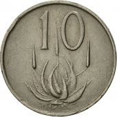 South Africa, 10 Cents, 1965, VF(30-35), Nickel, KM:68.1