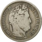 Coin, France, Louis-Philippe, 2 Francs, 1832, Rouen, VG(8-10), Silver, KM:743.2
