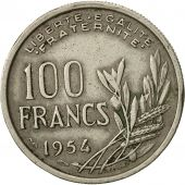 France, Cochet, 100 Francs, 1954, Paris, TTB, Copper-nickel, KM:919.1
