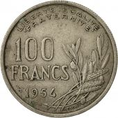 Monnaie, France, Cochet, 100 Francs, 1954, Paris, TB+, Copper-nickel, KM:919.1