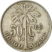 Congo belge, 50 Centimes, 1923, TTB, Copper-nickel, KM:22