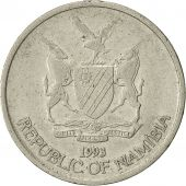 Namibia, 10 Cents, 1993, Vantaa, TTB, Nickel plated steel, KM:2