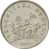 Croatie, 50 Lipa, 1995, TTB+, Nickel plated steel, KM:8