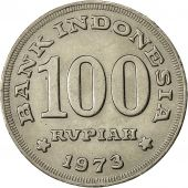 Indonesia, 100 Rupiah, 1975, AU(50-53), Copper-nickel, KM:36