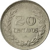 Colombia, 20 Centavos, 1971, AU(50-53), Nickel Clad Steel, KM:245