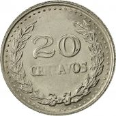 Colombia, 20 Centavos, 1974, AU(50-53), Nickel Clad Steel, KM:246.1