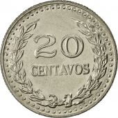 Colombia, 20 Centavos, 1973, AU(55-58), Nickel Clad Steel, KM:246.1