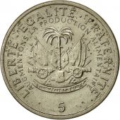 Haiti, 5 Centimes, 1975, AU(50-53), Copper-nickel, KM:119