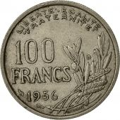 France, Cochet, 100 Francs, 1956, Paris, TB+, Copper-nickel, KM:919.1