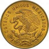 Mexico, 5 Centavos, 1963, Mexico City, EF(40-45), Brass, KM:426