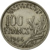 France, Cochet, 100 Francs, 1954, Paris, TB, Copper-nickel, KM:919.1