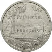 French Polynesia, 2 Francs, 1965, Paris, TB+, Aluminium, KM:3