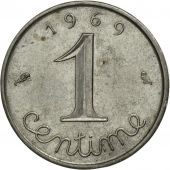 France, Épi, Centime, 1969, Paris, TB, Stainless Steel, KM:928, Gadoury:91