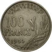 monnaie, France, Cochet, 100 Francs, 1955, Paris, TB, Copper-nickel, KM:919.1