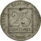 Monnaie, France, Patey, 25 Centimes, 1903, Paris, TB, Nickel, KM:855, Le