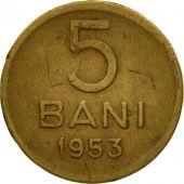 Monnaie, Roumanie, 5 Bani, 1953, TTB, Copper-Nickel-Zinc, KM:83.2