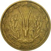 Monnaie, French West Africa, 25 Francs, 1957, Paris, TTB, Aluminum-Bronze, KM:9