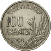 Monnaie, France, Cochet, 100 Francs, 1955, Paris, TB+, Copper-nickel, KM:919.1