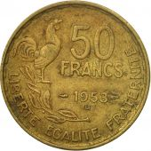 Coin, France, Guiraud, 50 Francs, 1953, Beaumont - Le Roger, VF(20-25)