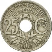 Monnaie, France, Lindauer, 25 Centimes, 1917, TTB, Copper-nickel, KM:867a, Le