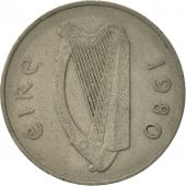 Monnaie, IRELAND REPUBLIC, 10 Pence, 1980, TB+, Copper-nickel, KM:23