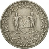 Coin, Surinam, 25 Cents, 1972, AU(50-53), Copper-nickel, KM:14