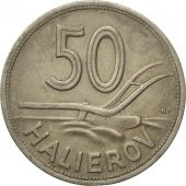 Monnaie, Slovaquie, 50 Halierov, 1941, TTB, Copper-nickel, KM:5