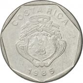 Coin, Costa Rica, 5 Colones, 1985, EF(40-45), Stainless Steel, KM:214.2