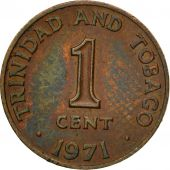 Coin, TRINIDAD & TOBAGO, Cent, 1971, Franklin Mint, EF(40-45), Bronze, KM:1
