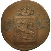 Coin, Norway, Carl XIV, Skilling, 1820, EF(40-45), Copper, KM:286