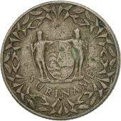 Coin, Surinam, 25 Cents, 1966, VF(30-35), Copper-nickel, KM:14