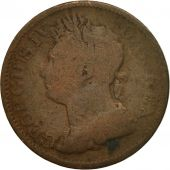 Coin, Ireland, 1/2 Penny, 1822, F(12-15), Copper, KM:150