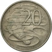 Coin, Australia, Elizabeth II, 20 Cents, 1967, VF(20-25), Copper-nickel, KM:66
