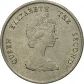 Coin, East Caribbean States, Elizabeth II, 25 Cents, 1997, EF(40-45)