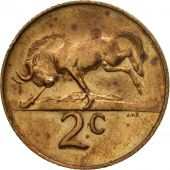Coin, South Africa, 2 Cents, 1967, VF(30-35), Bronze, KM:66.1