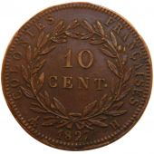 Martinique and Guadeloupe, Charles X, 10 Centimes