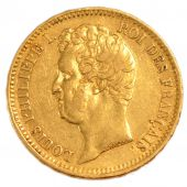 Louis-Philippe I, 20 Francs Or Naked Head
