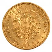 Germany, Louis II, 20 Mark