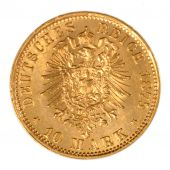Germany, Louis II, 10 Mark