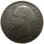 Second Empire, 5 Francs Napol�on III Naked Head