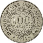 West African States, 100 Francs, 1971, TTB, Nickel, KM:4