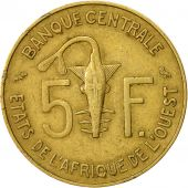 West African States, 5 Francs, 1971, TTB, Aluminum-Nickel-Bronze, KM:2a