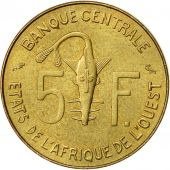 West African States, 5 Francs, 1974, TTB+, Aluminum-Nickel-Bronze, KM:2a