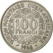 Monnaie, West African States, 100 Francs, 1968, TTB, Nickel, KM:4