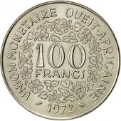 Monnaie, West African States, 100 Francs, 1972, TTB+, Nickel, KM:4