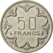 États de lAfrique centrale, 50 Francs, 1976, Paris, TTB+, Nickel, KM:11
