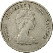 Coin, East Caribbean States, Elizabeth II, 25 Cents, 1989, EF(40-45)