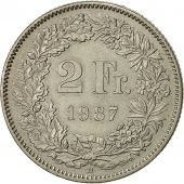 Monnaie, Suisse, 2 Francs, 1987, Bern, TTB, Copper-nickel, KM:21a.3